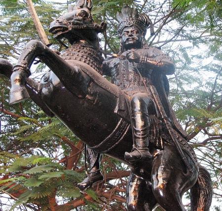 சம்ஸ்க்ருதம் தெரியாத மன்னன்